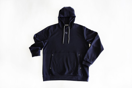 HOODIE PIRAN MAN navy blue no. M